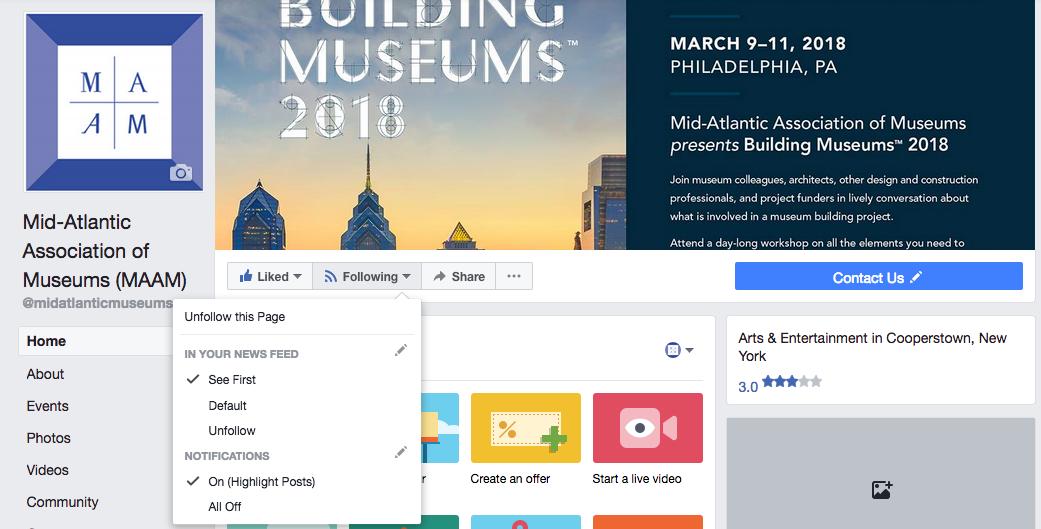 Keep seeing MAAM in your Facebook newsfeed