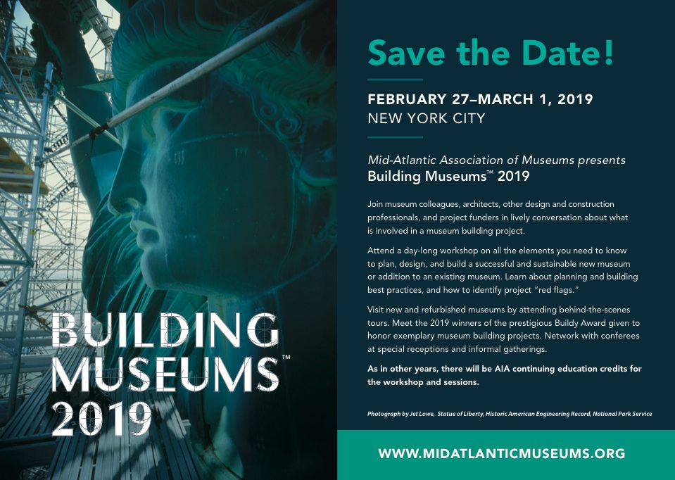 Building Museums™ 2019 – Mid-Atlantic Association of Museums